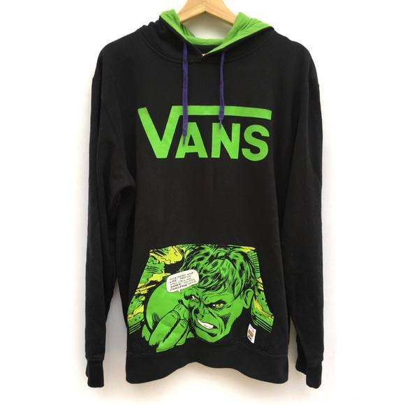 Vans Marvel Comics Incredible Hulk Hoodie